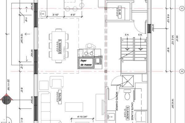 Plan Pour Foyer De Masse : Plan foyers de masse thermas partout au qu�bec